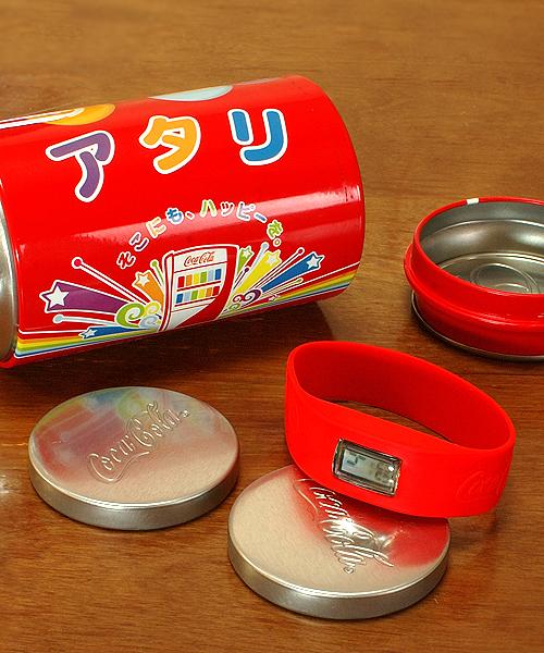 コカコーラ:当たりの缶詰