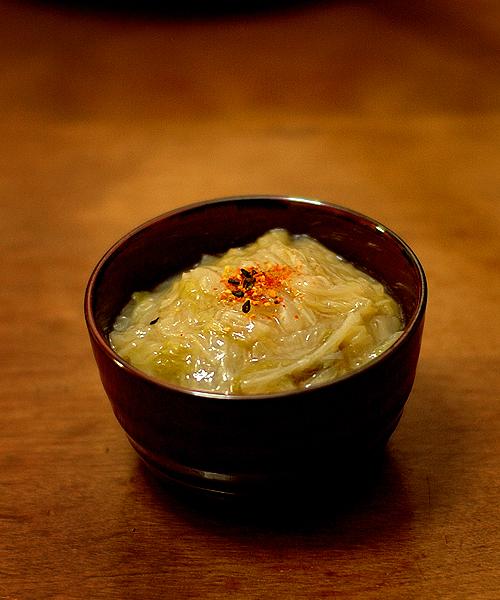 白菜のクタ煮