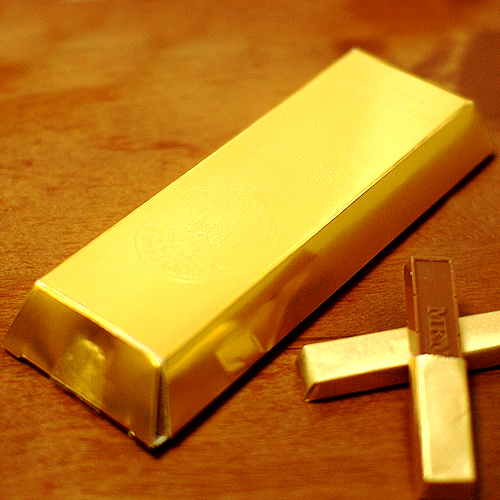 金塊チョコレート