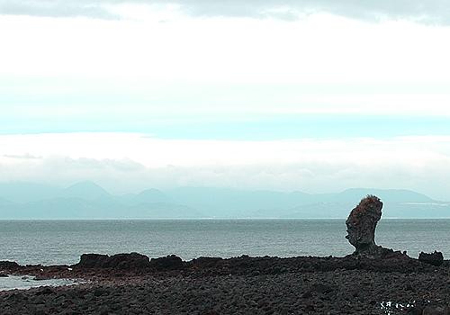 南島原付近の岩