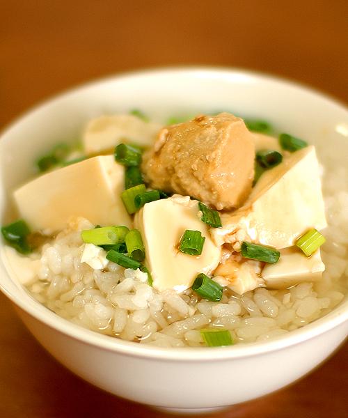 豆腐茶漬腐乳スペシャル