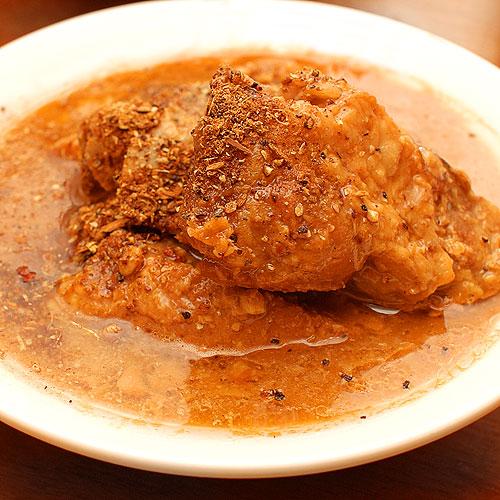 トンコツガラムマサラ風味