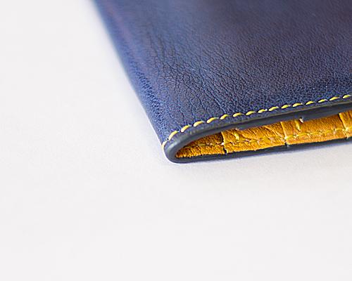 修理されたコバ@ブルックリンの長財布