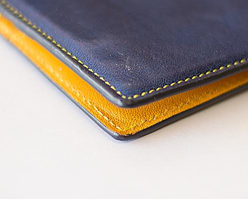 修理されたコバ@ブルックリンの長財布2