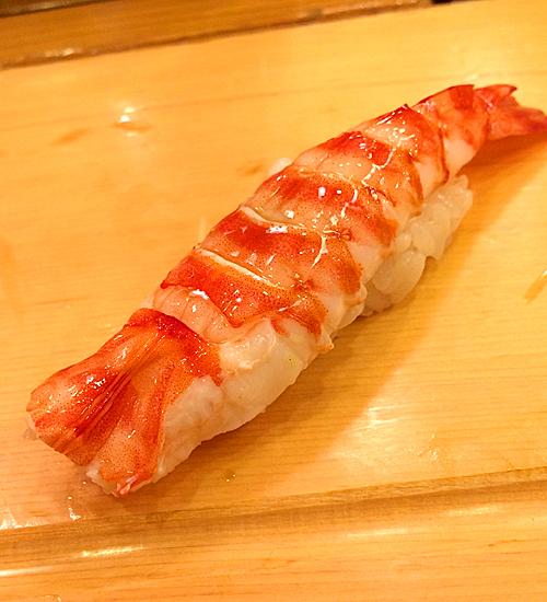 吉野鮨のエビ