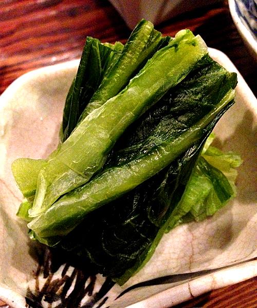 広島菜の漬物