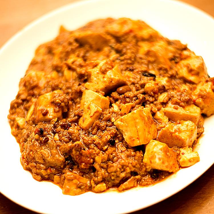 リーペリンで麻婆豆腐