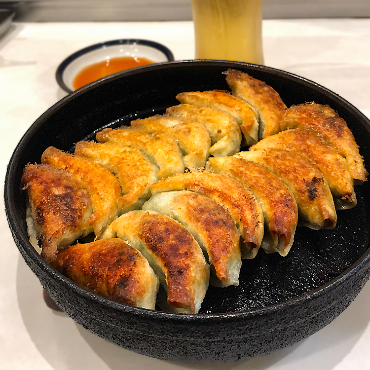 博多祇園鉄なべの餃子