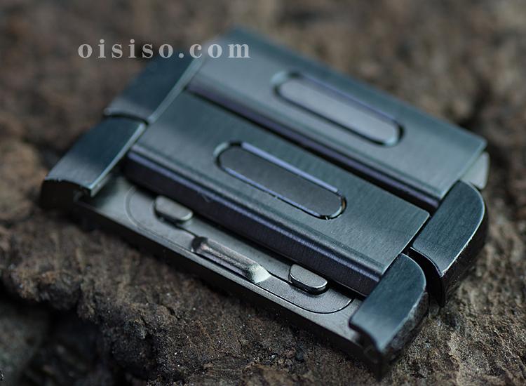 【42mm用】スペースブラックリンクブレスレット【Apple Watch】リンクのボタン