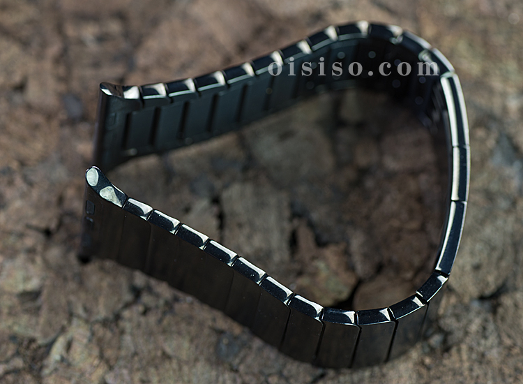 【42mm用】スペースブラックリンクブレスレット【Apple Watch】側面