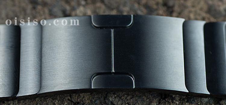 【42mm用】スペースブラックリンクブレスレット【Apple Watch】バタフライバックル