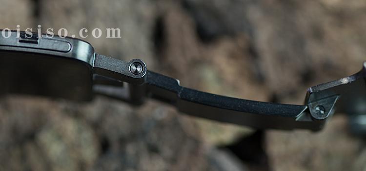 【42mm用】スペースブラックリンクブレスレット【Apple Watch】ヒンジ