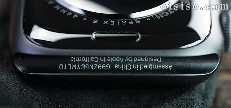 Apple Watch5の組み立ては中国、デザインはアップル
